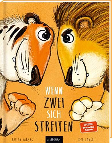 Wenn zwei sich streiten: Tiger und Löwe