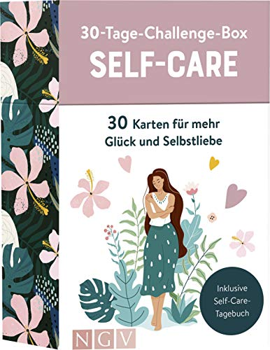 30-Tage-Challenge-Box Self Care: 30 Karten für mehr Glück und Selbstliebe