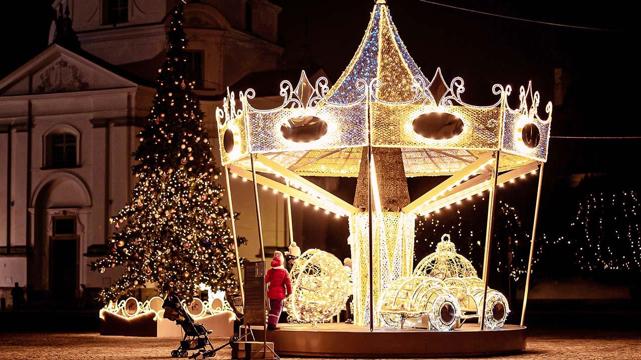 Phantasiereise-Weihnachtsmarkt