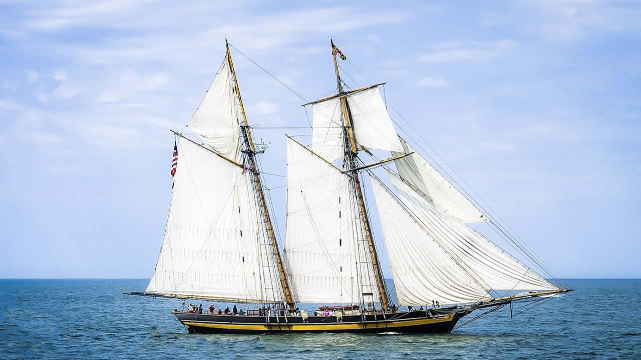 Meditationstext Bild Segelschiff